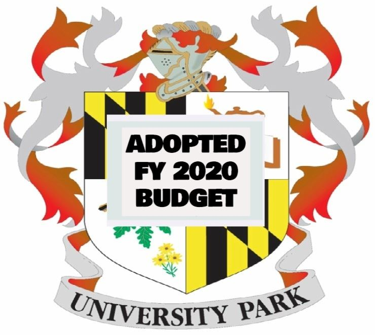 FY2020 ADOPTED Budget image of the Town's seal