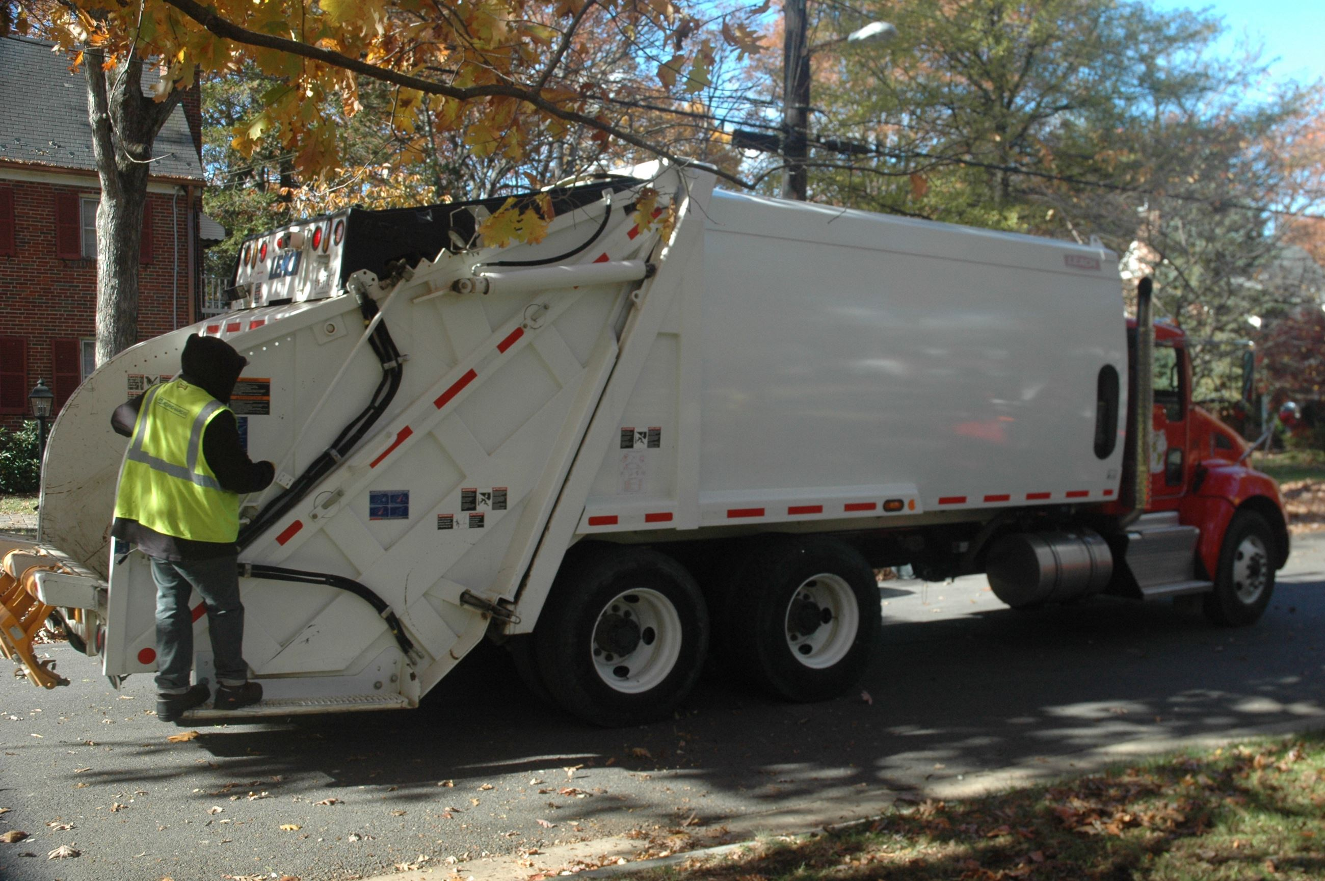 Public Works Trash Truck
