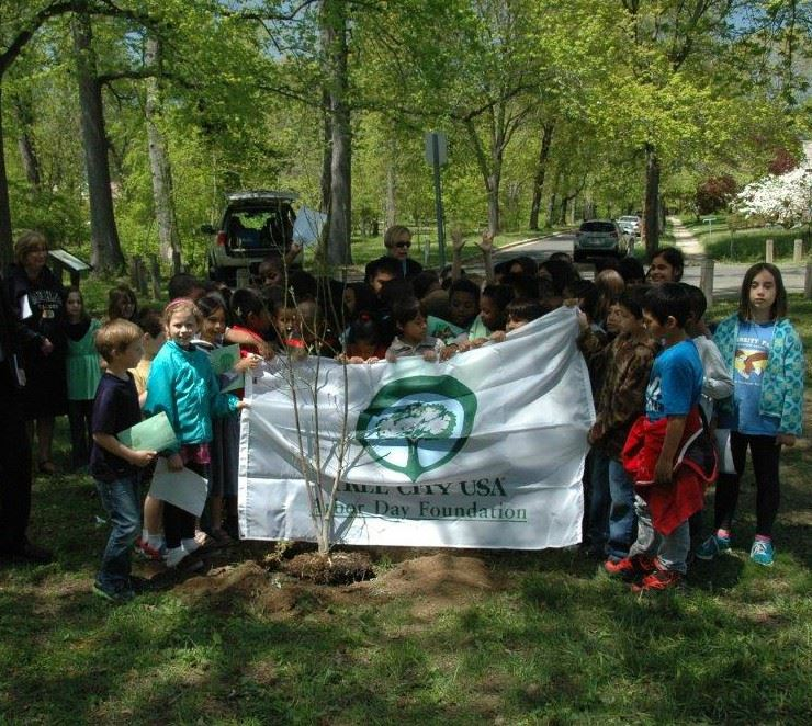 Tree City Arbor Day