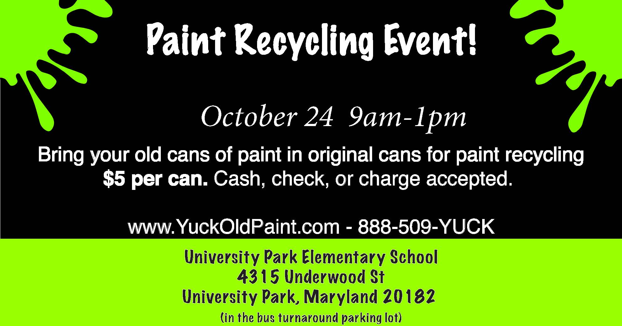 Paint Recycling Flyer 102420